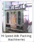 manufacturers of milk or badam milk packing machineries hyderabad, secunderabad, ap, india